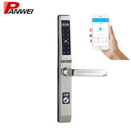 Biometric Fingerprint Scanner Door Lock With 4 AA Alkaline Batteries